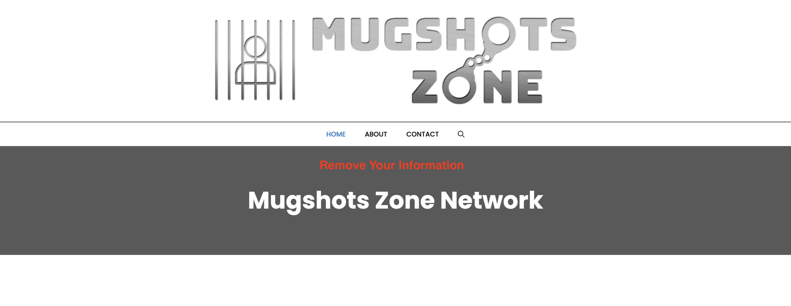 Mugshots.Zone Removal: How to remove your records from Mugshots.Zone